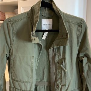 Madewell perfect spring coat